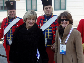 Minister Yelich Attends Croatian Presidential Inauguration