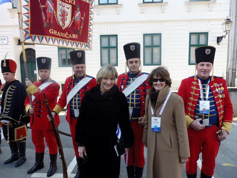 La ministre Yelich assiste à l'investiture de la présidente croate