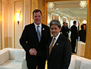 2013-07-01 - Baird Meets Brunei's Minister of Foreign Affairs