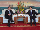 2013-07-04 - Le ministre Baird rencontre le président de la China National Offshore Oil Company