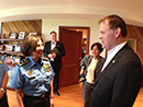 2013-07-29 - Minister Baird Meets Head of Nicaragua's National Police to Discuss Security in Hemisphere
