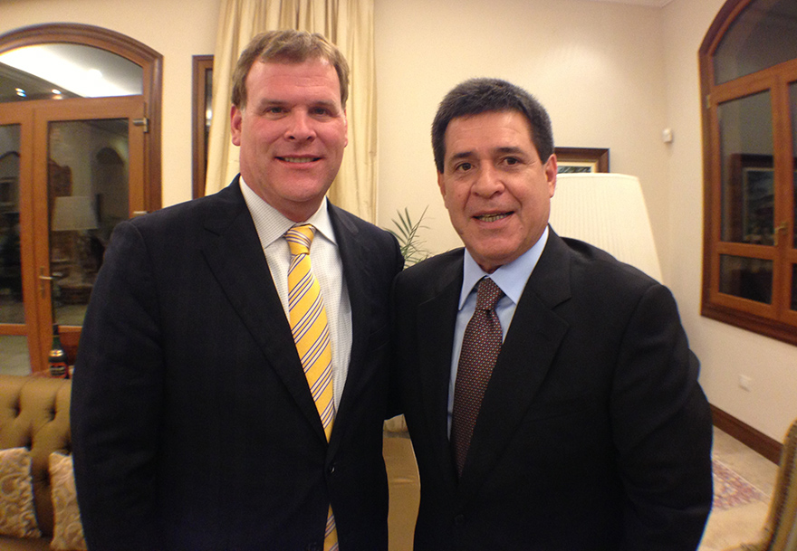 Baird Meets with President-Elect of Paraguay