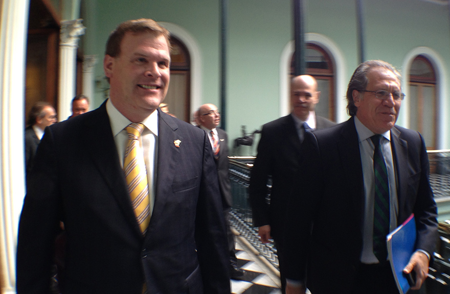 Baird Meets with Uruguayan Minister of Foreign Affairs