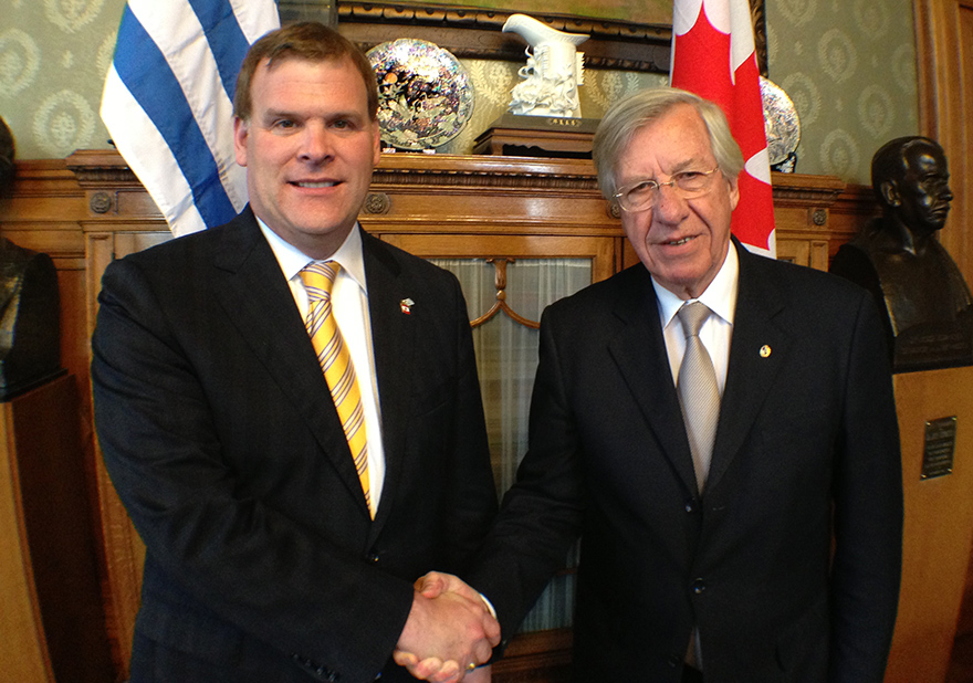 Baird Meets with Uruguayan Vice-President