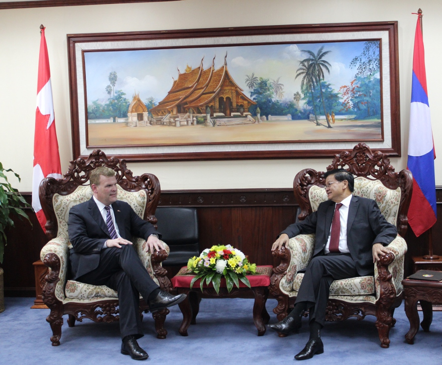 Baird Meets with Minister of Foreign Affairs of Laos