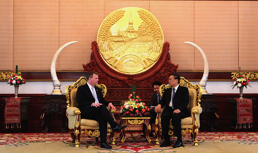 Baird Meets with President of Laos