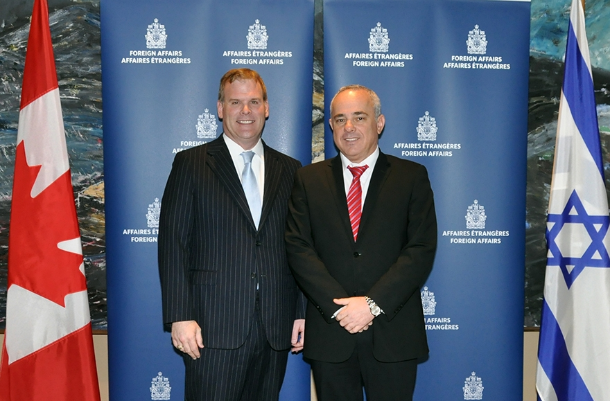 Baird Meets With Israel's Minister of Strategic and Intelligence Affairs