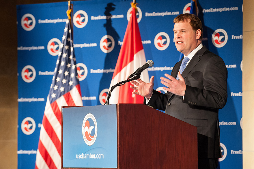 Baird Addresses U.S. Chamber of Commerce