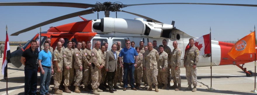 Minister Baird Visits Multinational Force & Observers North Camp in Sinai