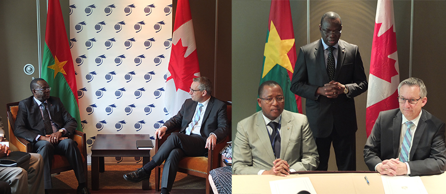 Minister Fast Announces New Investment Agreement with Burkina Faso