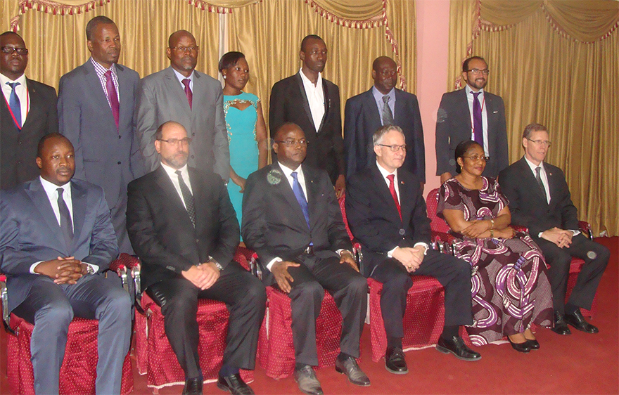 Minister Fast Attends Opening of CIM Office in Burkina Faso