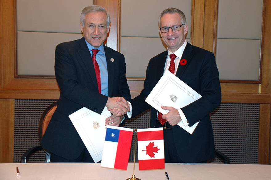 Canada And Chile Conclude New Chapter In Free Trade Agreement