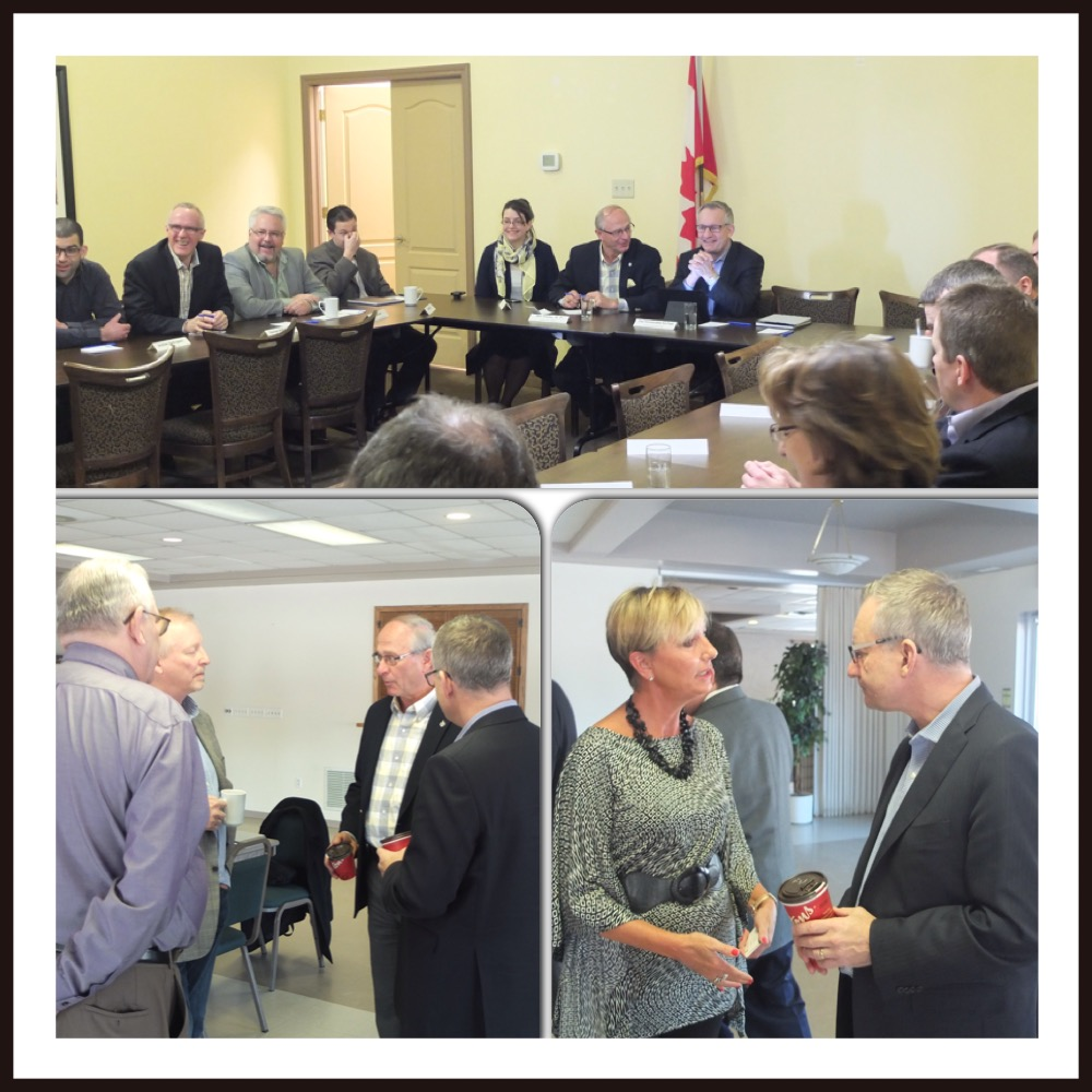 Minister Fast Hosts Round Tables with Small and Medium-Sized Enterprises in Southwestern Ontario