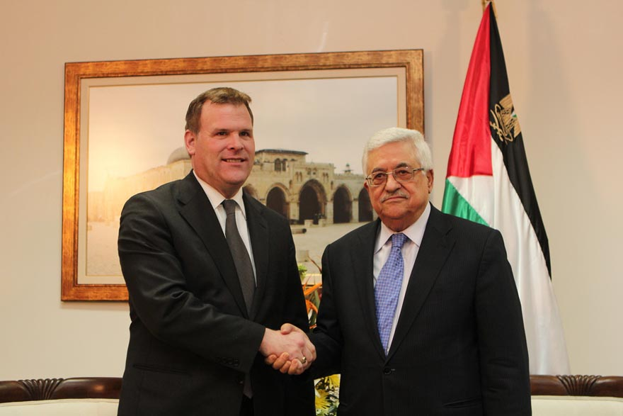 Minister Baird Meets with Palestinian Authority President Mahmoud Abbas