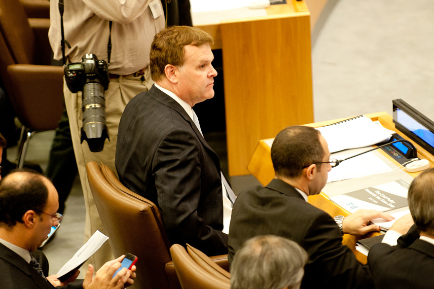 Baird Attends Ad Hoc Liaison Committee Meeting