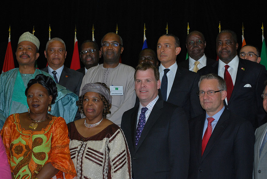 Ministers Baird and Fast Join Friends of the African Community to Celebrate Africa Day