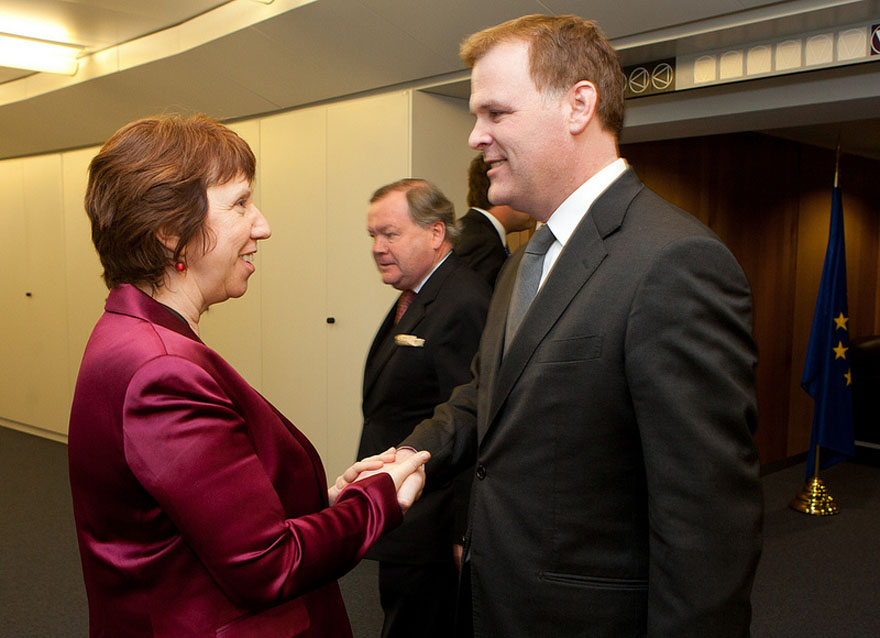 Baird and Ashton Conclude Annual Transatlantic Dialogue