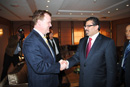 Baird Meets with Tunisian Counterpart - Foreign Affairs Minister John Baird meets with Rafik Abdessalem, Minister of Foreign Affairs of Tunisia. The two ministers discussed Tunisia's new constitution, good governance and human rights.