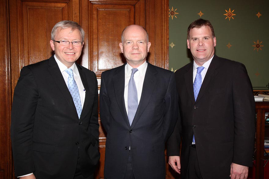 Foreign Affairs Minister John Baird Meets with Foreign Ministers of Australia and the United Kingdom