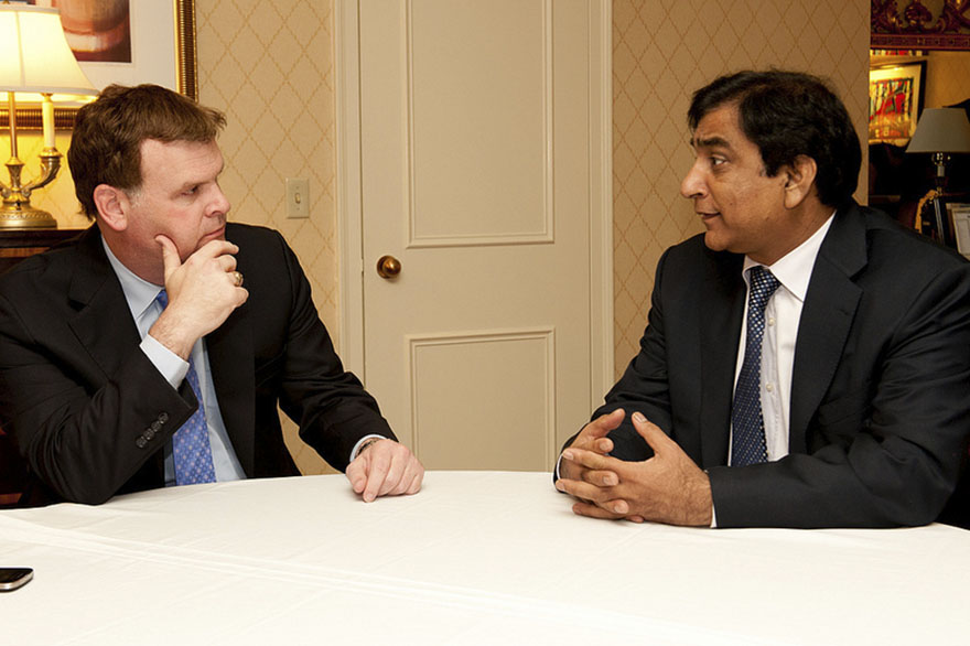 Baird met with Paul Bhatti, Advisor to the Prime Minister of Pakistan on National Harmony