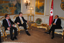 Baird Meets with Tunisian President - Foreign Affairs Minister John Baird meets with Moncef Marzouki, President of Tunisia. Baird and the President discussed key economic and commercial files, including negotiations toward a foreign investment protection agreement.