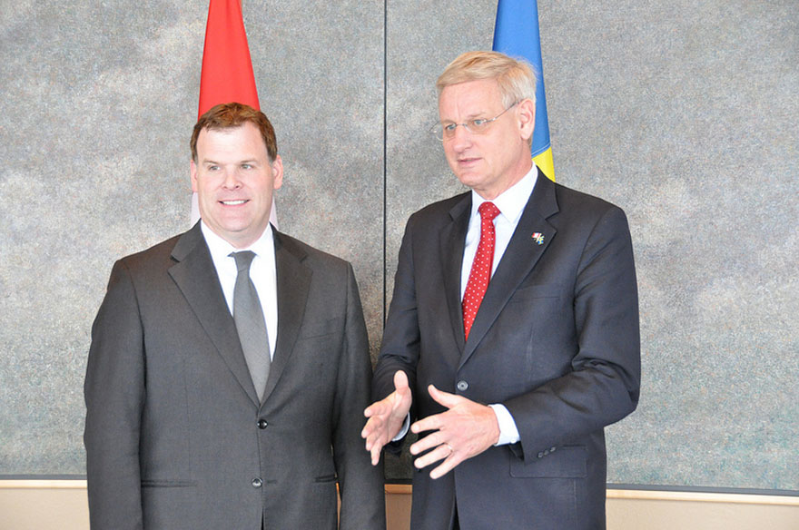 Baird Welcomes Swedish Counterpart