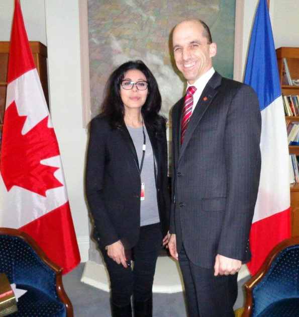 Minister Blaney Meets French Counterpart