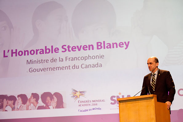 Minister Blaney Takes Part in Rencontres France-Acadie in Nantes