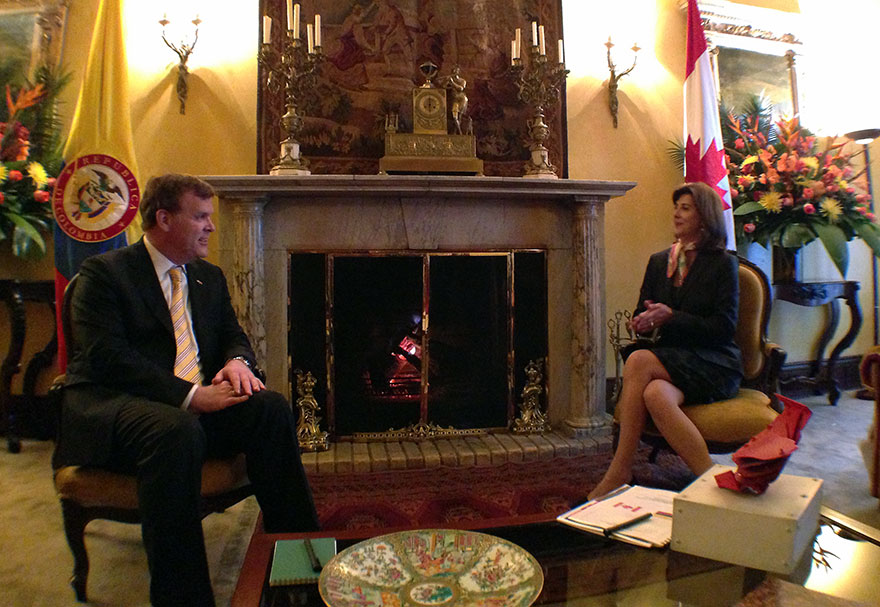 Baird Meets Colombian Counterpart