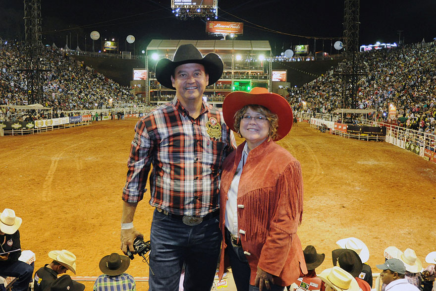 Minister of State Ablonczy Attends International Rodeo in Brazil