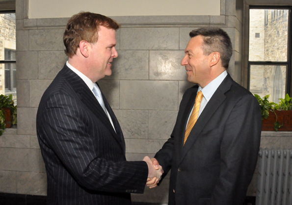 Minister Baird Meets with President of International Red Cross Committee