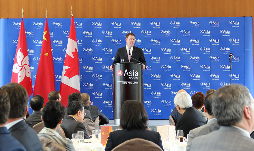 Baird Addresses Asia Society of Hong Kong