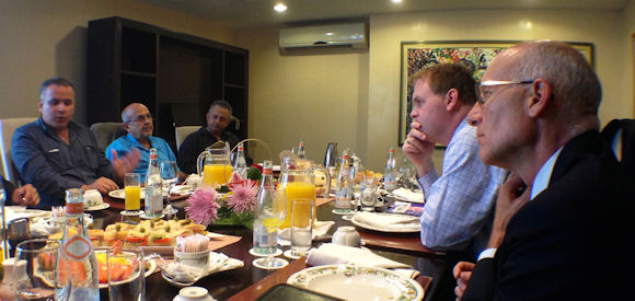 Baird Meets with Members of Civil Society in Cuba
