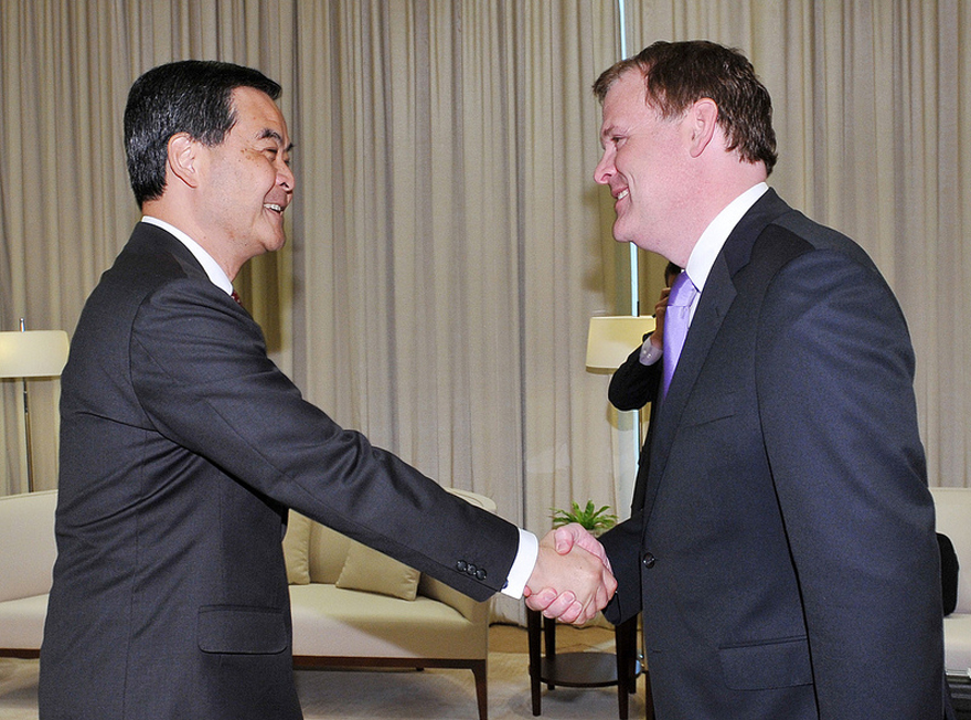 Baird Meets with New Chief Executive of Hong Kong Special Administrative Region
