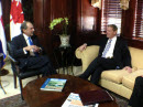 February 21, 2013 - Santo Domingo - Foreign Affairs Minister Baird meets with José Manuel Trullols, the Dominican Republic's Vice Minister of Foreign Affairs. Canada works closely with Dominican authorities to provide consular assistance to Canadian citizens.