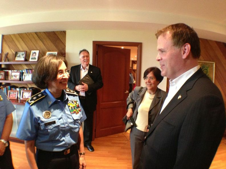 Minister Baird Meets Head of Nicaragua's National Police to Discuss Security in Hemisphere