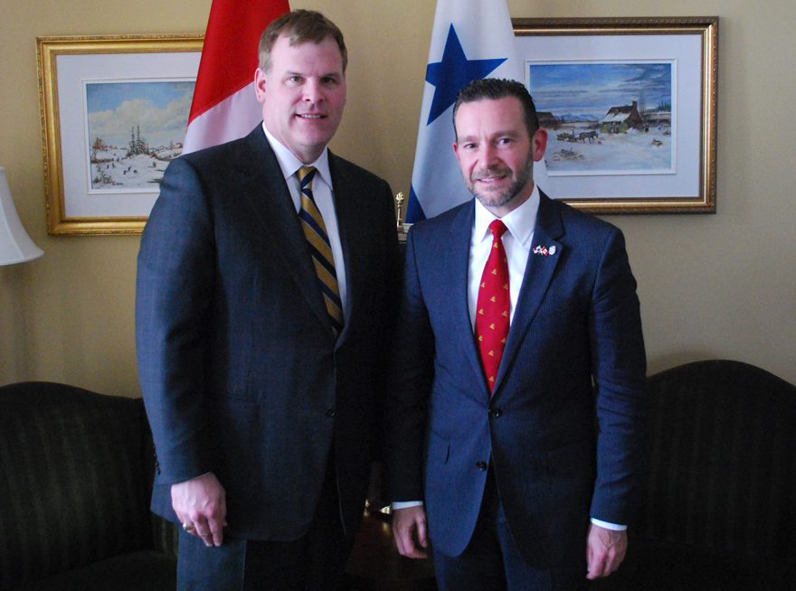 Baird Meets with Foreign Minister of Panama