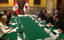 February 18, 2013 - Lima - Foreign Affairs Minister John Baird meets with Rafael Roncagliolo, Peru's Minister of Foreign Affairs. The ministers discussed issues related to our two countries' mutual prosperity and security.