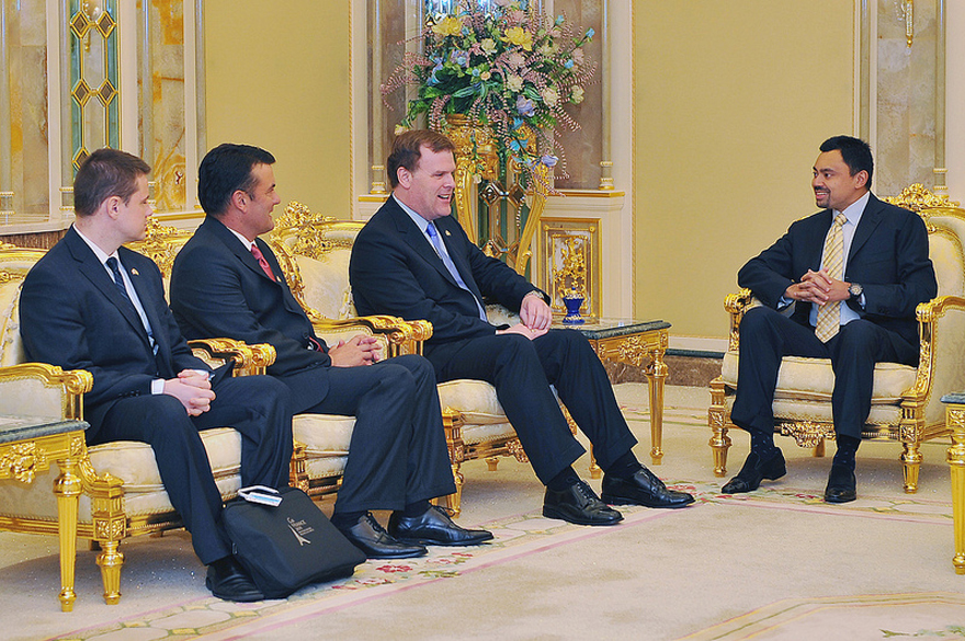 Baird Meets with Crown Prince of Brunei