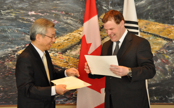 Canada and Republic of Korea Celebrate a Half Century of Diplomatic Relations