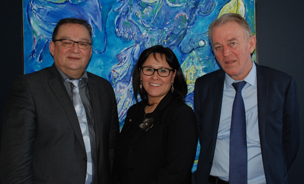 Minister Aglukkaq Met with Danish Foreign Minister and Premier of Greenland