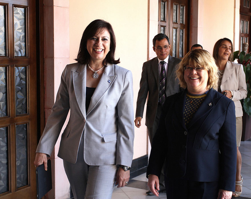 Minister of State Ablonczy Meets with Vice-President of Honduras