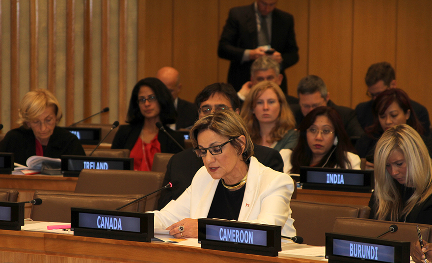 Minister of State Yelich Delivers Remarks at Forum on Women's Economic Empowerment for Peacebuilding
