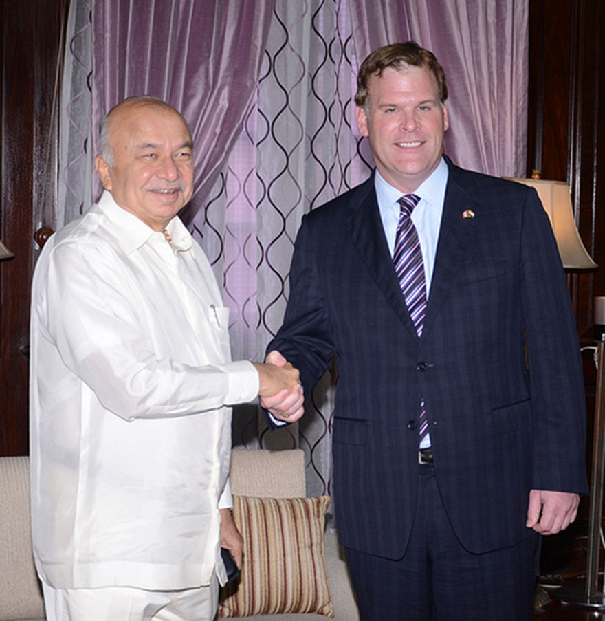 Baird Meets with India's Minister of Home Affairs