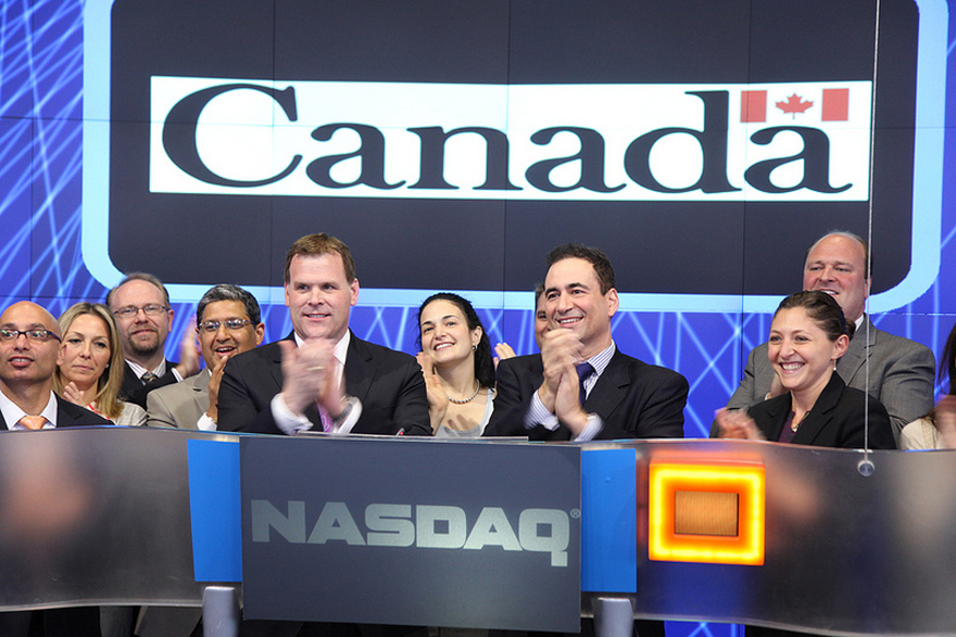 Baird Rings NASDAQ Closing Bell to Mark Canada Day Celebrations