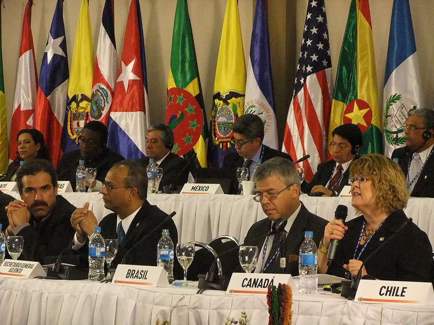 Ablonczy Attends OAS General Assembly in Bolivia