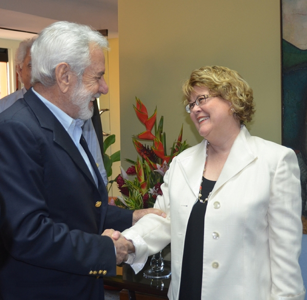 Minister Ablonczy Meets with Nicaragua's Foreign Minister