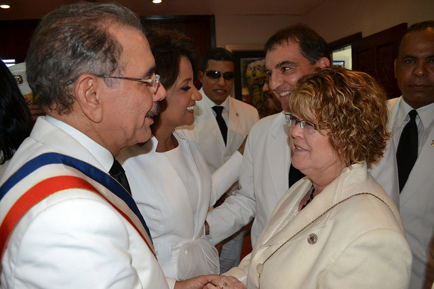 Ablonczy Congratulates New President of Dominican Republic
