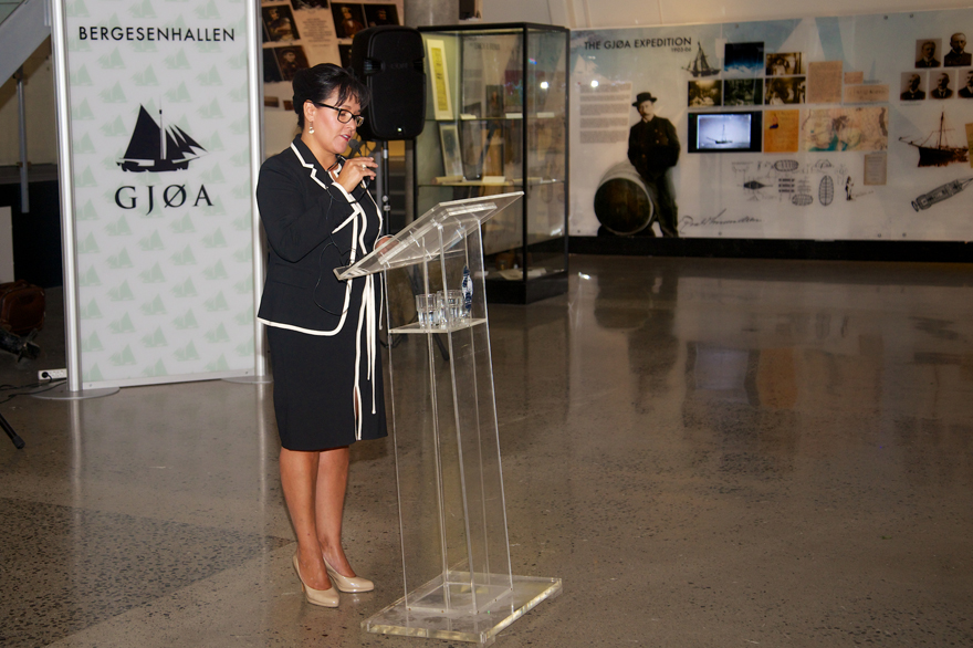 Minister Aglukkaq Delivers Remarks on Canada's Arctic Council Chairmanship at Fram Museum