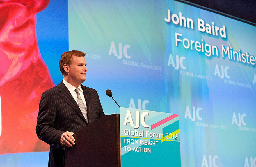 Minister Baird Addresses American Jewish Congress Forum